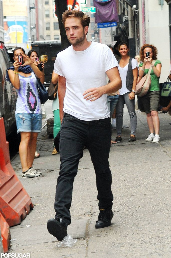 Robert Pattinson Gets Casual and Cute at Lunch Robert
