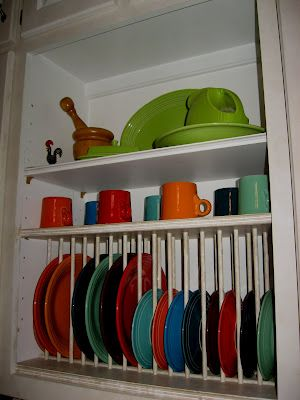 How To Make A Plate Rack Insert Bing Images House Goodies Dinnerware Display Plate Storage