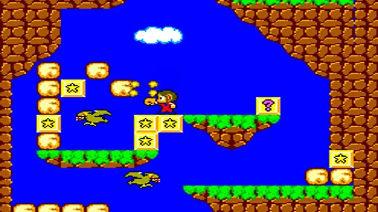 Alex Kidd In Miracle World Master System Sega With Images