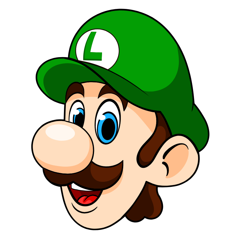 Mario Luigi Head Mario And Luigi Luigi Mario