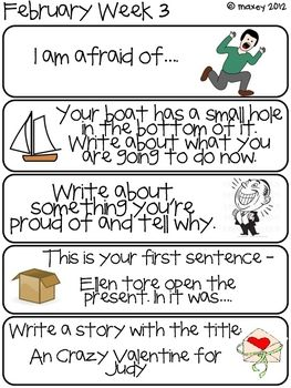 year 3 creative writing ideas