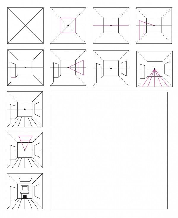 3 Ways to Teach 1-Point Perspective | The Institute for Arts Integration and STEAM
