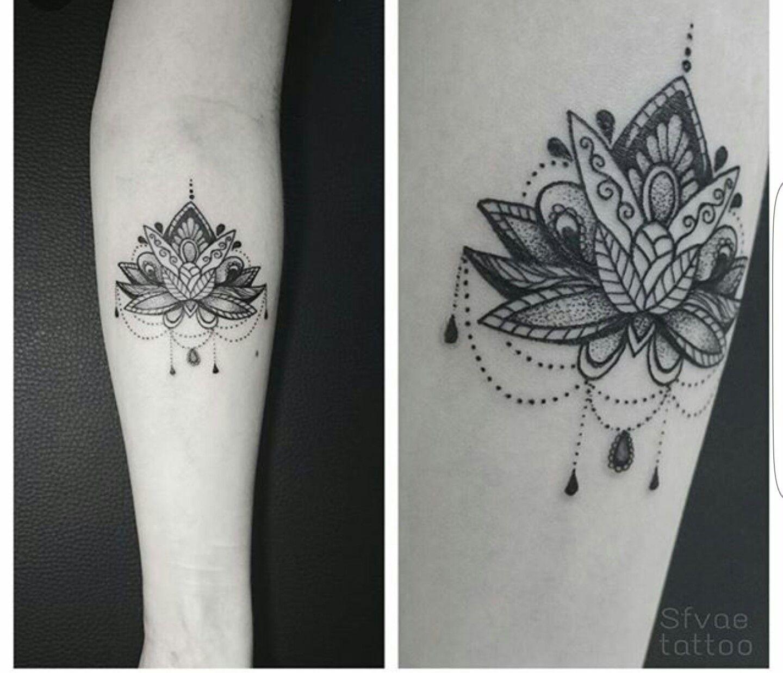 Mandala tattoo on pinterest lotus mandala tattoo lotus mandala - Body Art Lotus Mandala Tattoocover