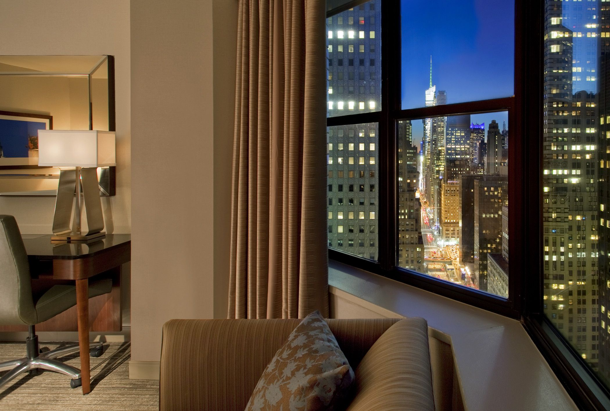 The Westin New York Grand Central New york hotels, Map