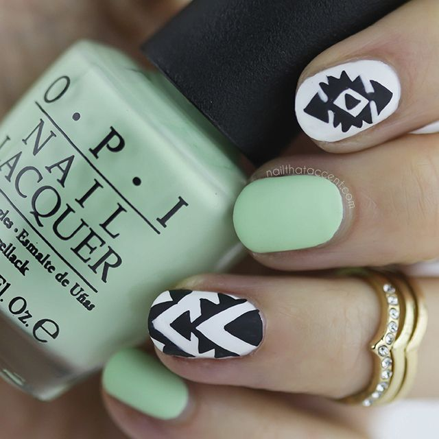 OPI That\'s HULA-RIOUS! (Nail That Accent!) | Pinterest | Diseños de ...
