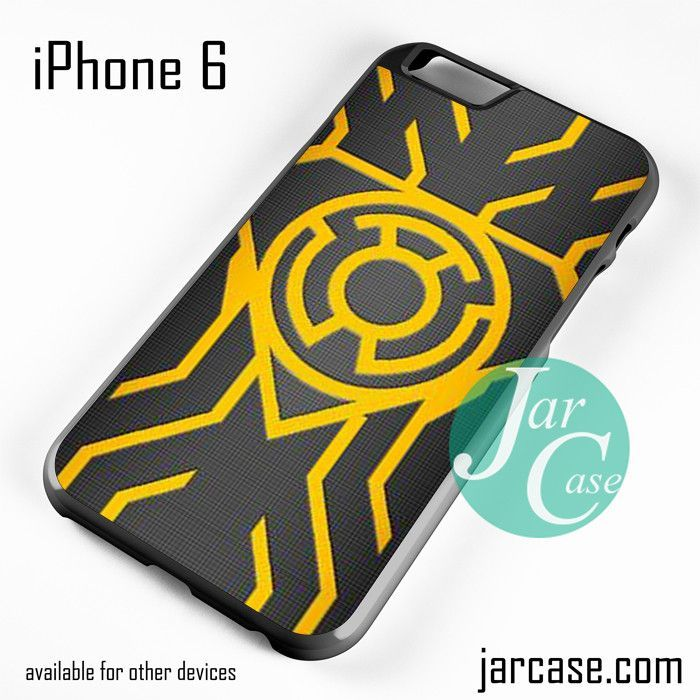 Yellow Lantern Phone case for iPhone 6 and other iPhone devices