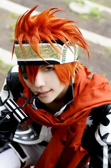 Lavi from D.Gray-Man #dgrayman #cosplay - COSPLAY IS BAEEE!!! Tap the pin now to grab yourself some BAE Cosplay leggings and shirts! From super hero fitness leggings, super hero fitness shirts, and so much more that wil make you say YASSS!!!