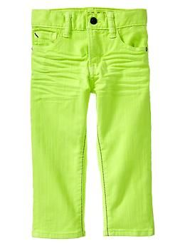 d27ee110aac Neon straight fit jeans
