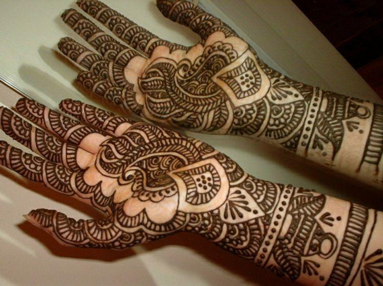 Tatuajes Mehndi Diseños : Tatuajes de henna significado diseños y mucho más