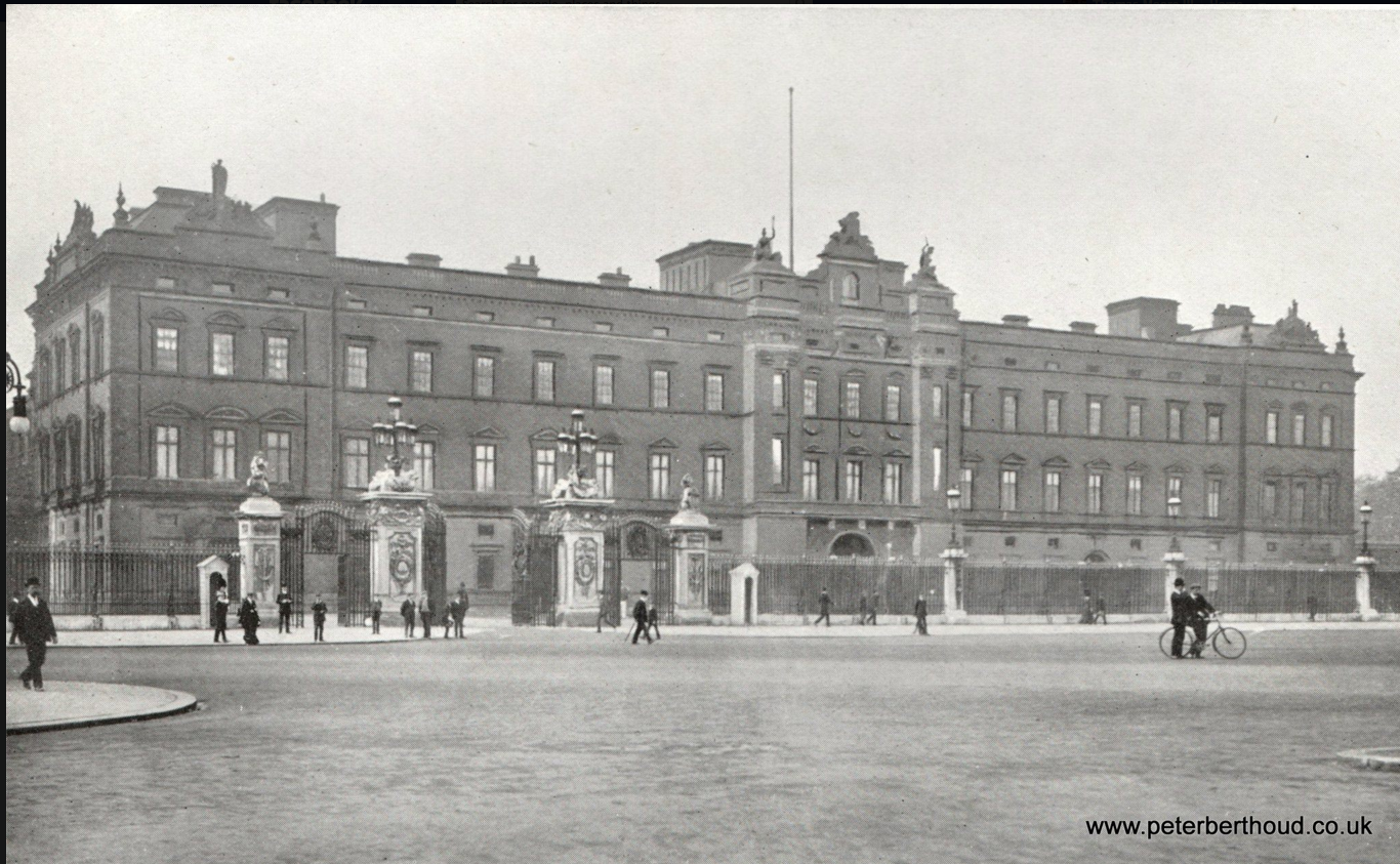 Buckingham Palace Before It Was Refaced By King George V