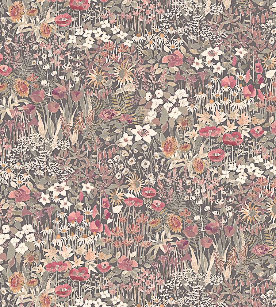 Floral Clay Fabric by Liberty Art Fabrics | Jane Clayton