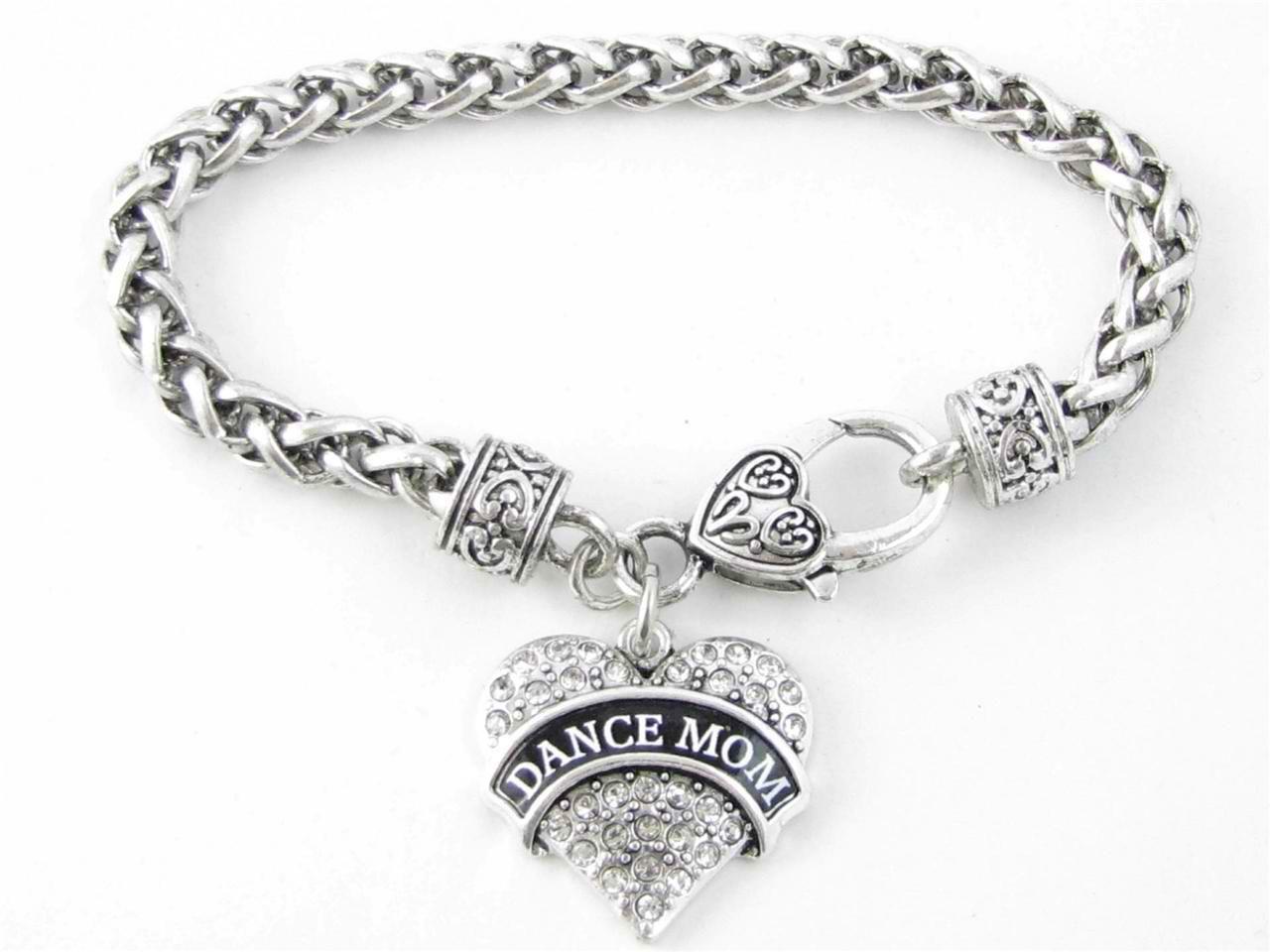 Dance mom heart bracelet shoppingwithadam jewelry