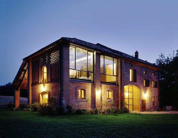 Rustico romantico fienili ristrutturati fienili e facciate for Fienile casa piani casa