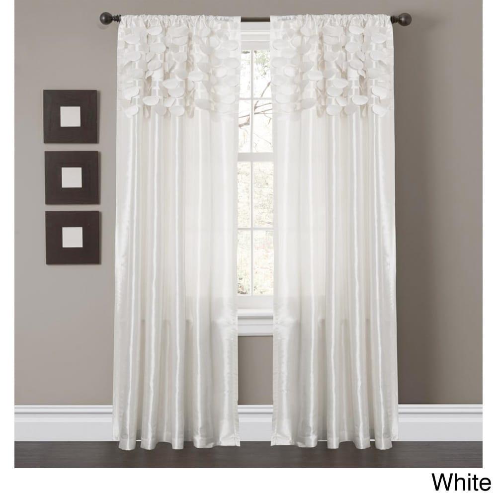 Lush Decor Circle Dream Curtain Panels Set Of 2 Panel Curtains