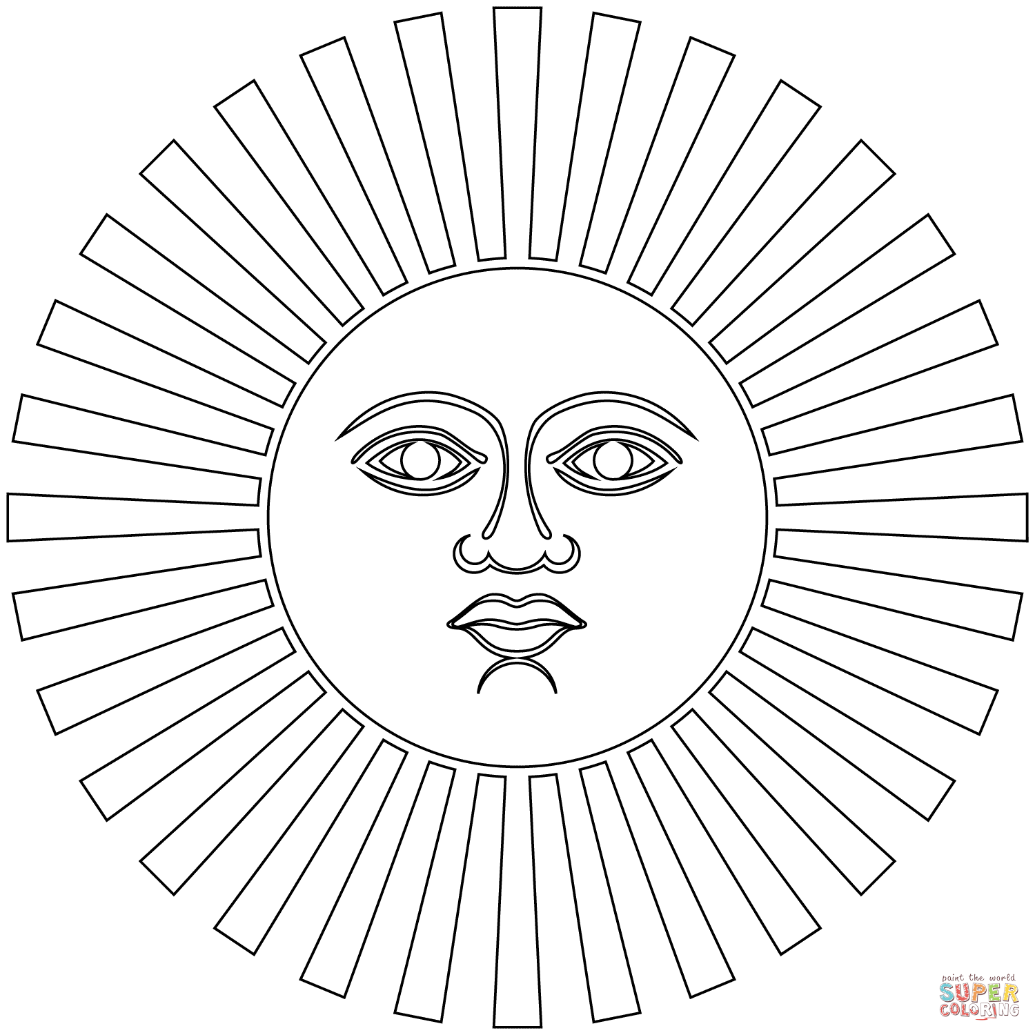 Inca Art Coloring Pages