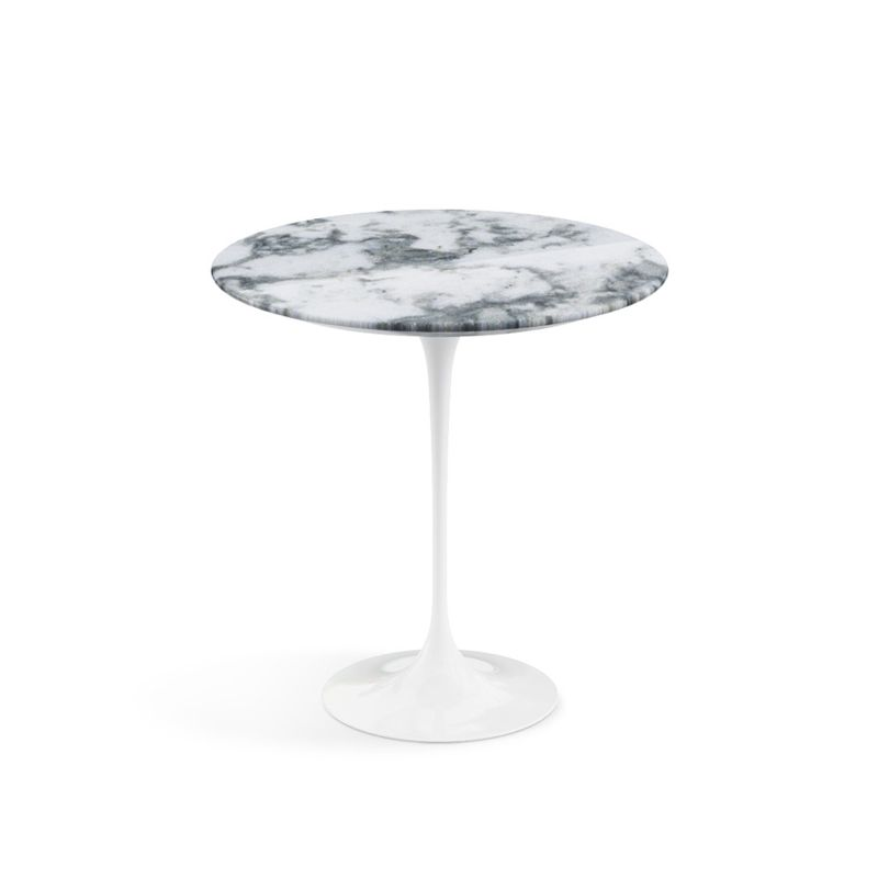 Table D Appoint Gueridon Saarinen Marbre Knoll Silvera Eshop Table D Appoint Ronde Gueridon Table Saarinen
