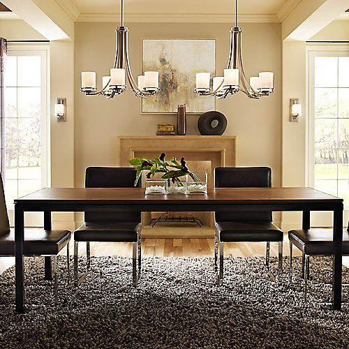 Outstanding Transitional Dining Room Suitable For Any Home: Dining Room Colors, Modern Dining