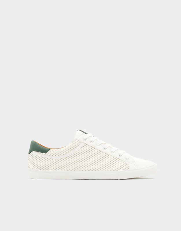 Pull&Bear hombre zapatos zapatillas zapatillas zapatos zapatilla troquelada 585545