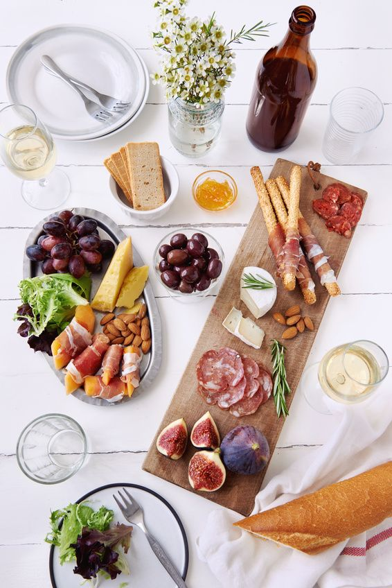 A simple guide on how to make a cheese plate with easy to find, affordable, and great-tasting cheeses, meats, and more!