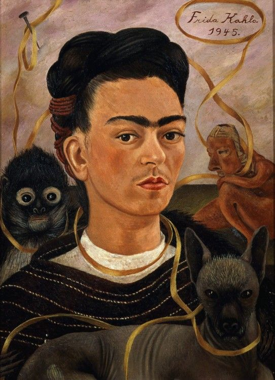 Frida Kahlo's Indigenous Identity | Museums and Society | Johns Hopkins University. Ancient objects that appear in Frida Kahlo's (1907-1954) paintings have rarely been exhibited alongside her work. Yet, by her own account, ancient art was instrumental in her efforts to define herself and her national identity.