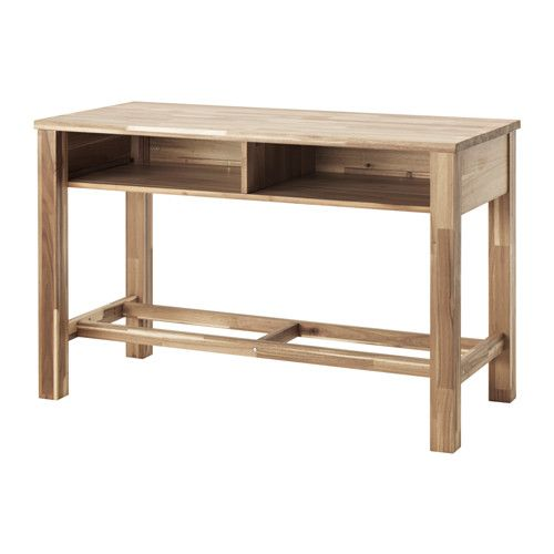 ikea skogsta bar table solid wood is a durable natural material which can be sanded and. Black Bedroom Furniture Sets. Home Design Ideas