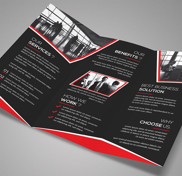 100 Free Premium Business Brochure Psd Designs Brochures