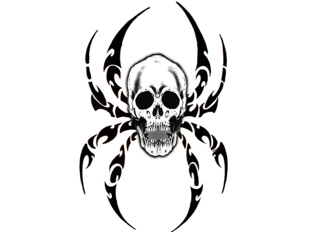 simple tribal skull tattoo designs the image kid has it. Black Bedroom Furniture Sets. Home Design Ideas