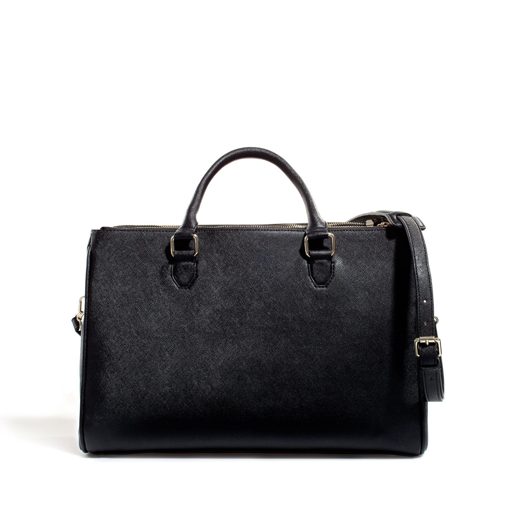 3f12765d08 OFFICE CITY BAG - Handbags - Woman - ZARA United Kingdom   Fashion ...