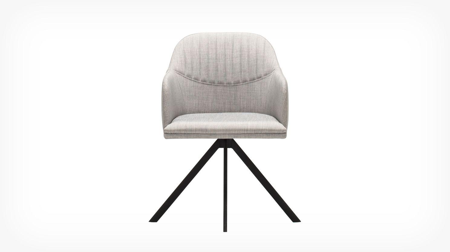 Abigail Arm Chair | EQ3 Modern Furniture  sc 1 st  Pinterest & Abigail Arm Chair | EQ3 Modern Furniture | Dining Room | Pinterest ...