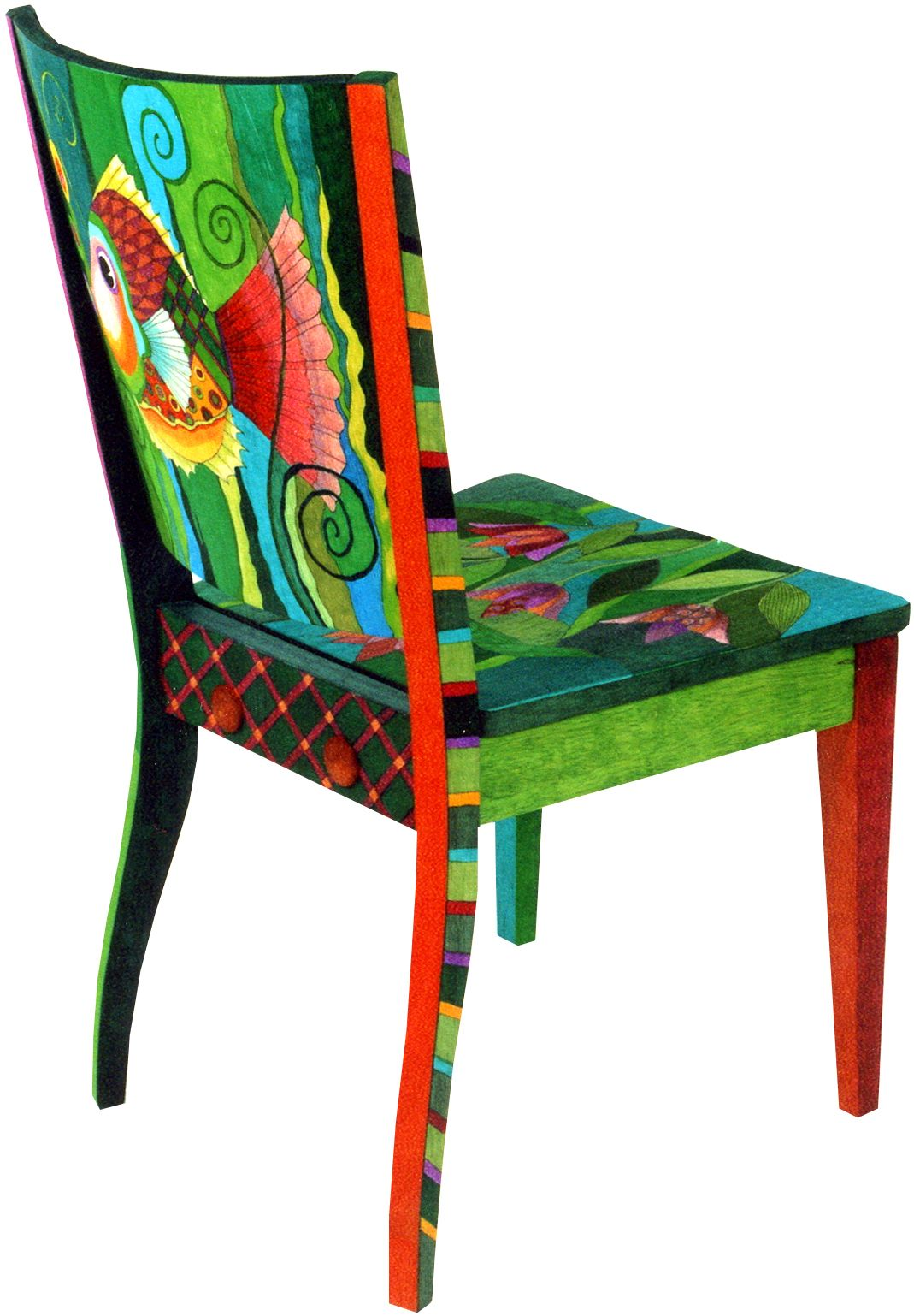 helen heins peterson decorated chair this is simply fabulous