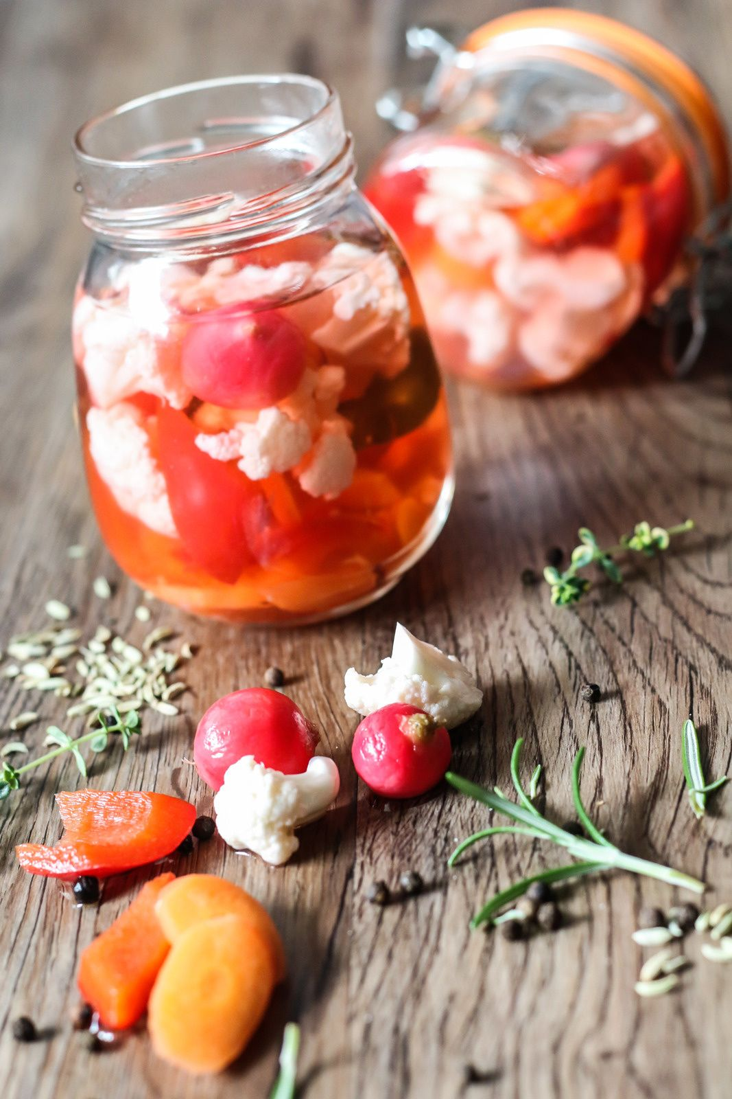 Pickles de légumes (avec images) | Recette chou fleur, Recette chou, Recettes de cuisine