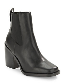 DESIGN LAB LORD & TAYLOR Koallan Leather Ankle Boots. Shop now: http://ow.ly/STzqx