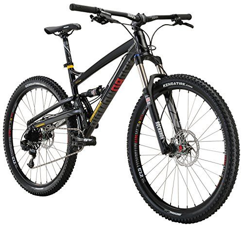 26fae989d9e Mountain Bikes – Diamondback Bicycles Atroz Comp Full Suspension Mountain  Bike, Gloss Black, 20″/LargeBikes, Bike Accessories and Tools | Bikes, Bike  ...