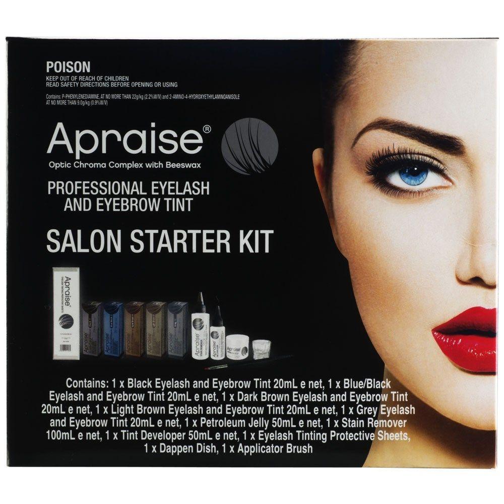 The Apraise 11 piece Professional Eyelash and Eyebrow Tint Salon ...