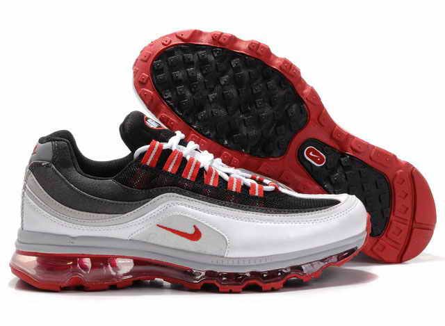 free shipping 5cac6 8fb30 Homme Nike Air Max 24-7 Red(rouge) White(blanc) Grey(gris)