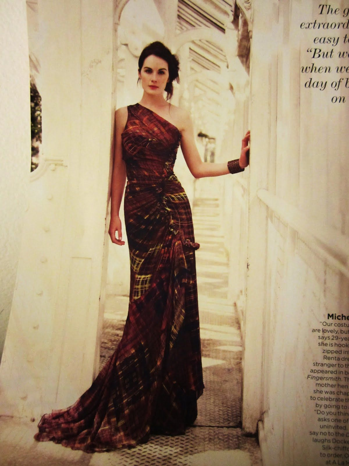 Michelle Dockery from Downton Abbey. | Obsessions. | Pinterest