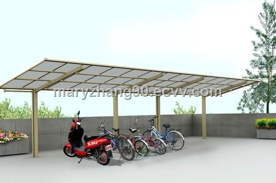 The Most Convenient Outdoor Carport Canopy Protecting Your Bike And Motrocycle From Uv And Rain From China Manufacturer Manufactory Factory And Supplier On Carport Canopy Carport Plans Aluminum Carport