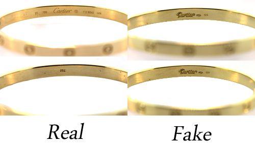 Fake Cartier Love Bracelet – How to Spot One