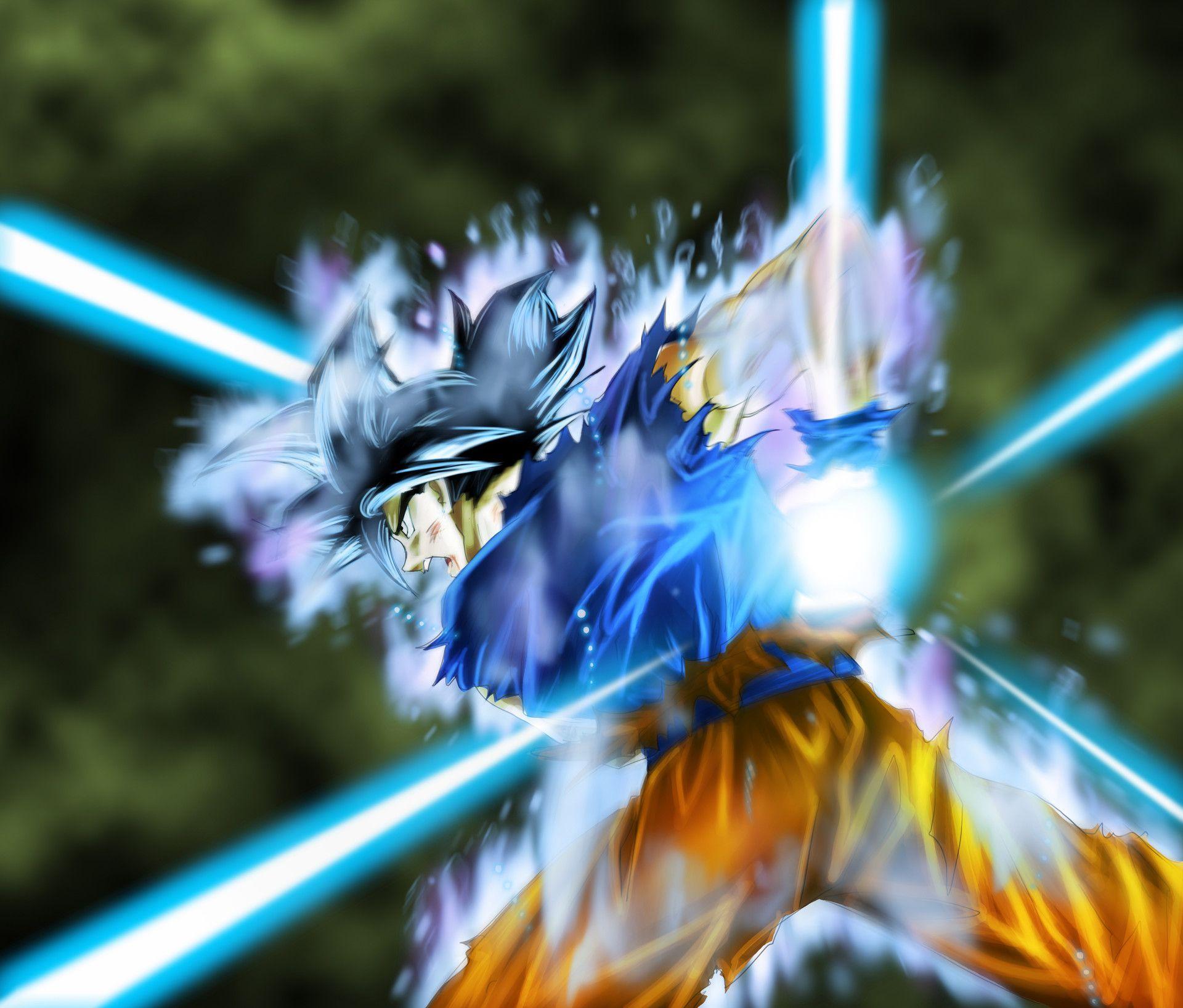 Goku Ultra Instinct Kamehameha By Robert Quach Goku Dragon Ball Z Goku Ultra Instinct