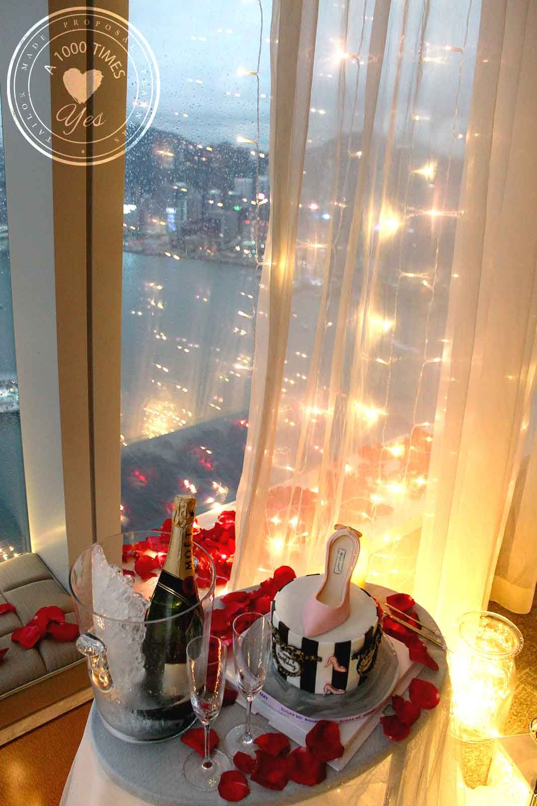 Romantic Hotel Room Ideas: Hong Kong Hotel Room Makeover Romantic Surprise A 1000