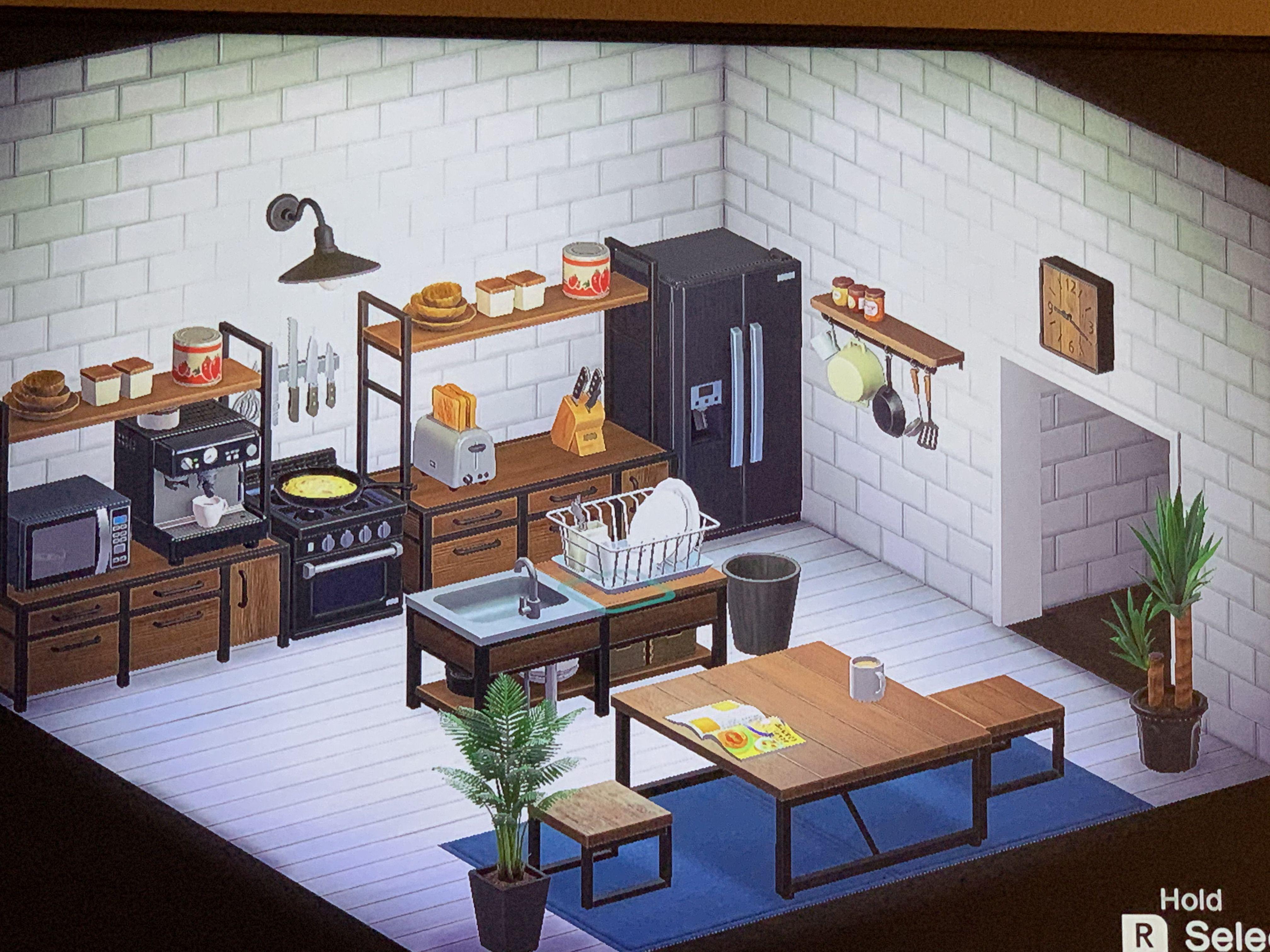Kitchen Island Furniture Animal Crossing New Horizons ... on Animal Crossing Kitchen Island  id=96566