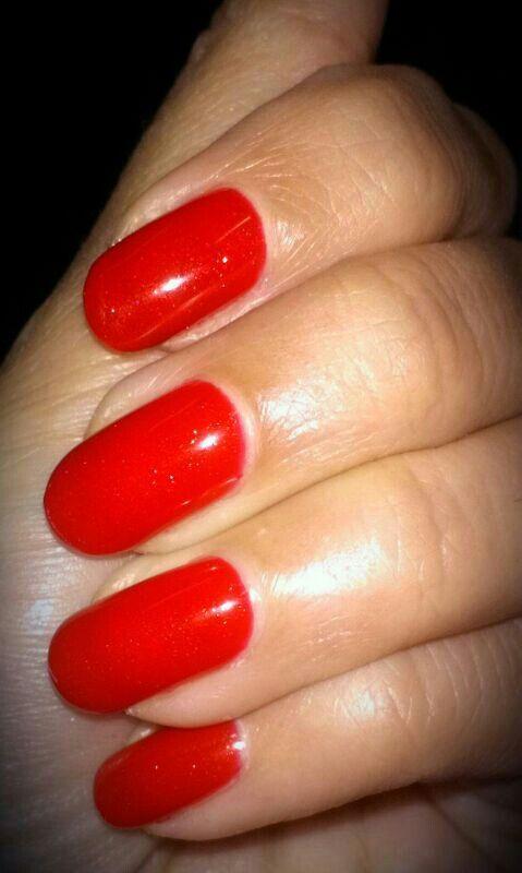#Red #OPI #Gelnails