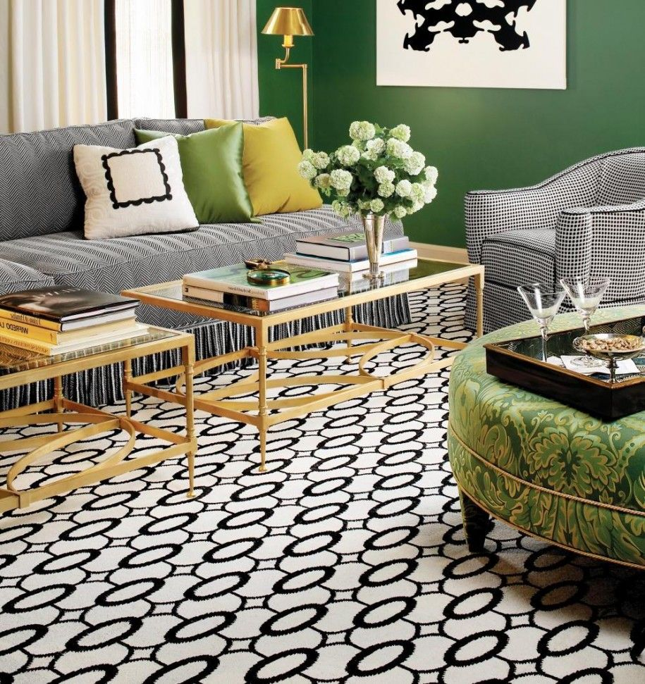 Cool white and black rugs marvellous living area interior design