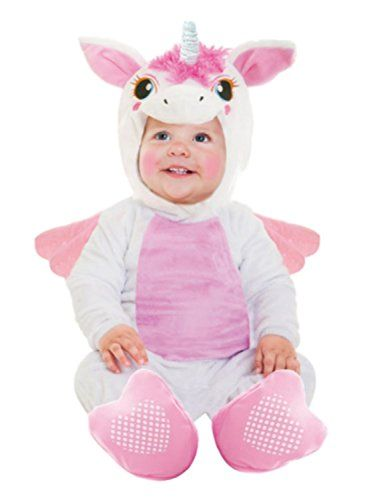 Baby Unicorn Halloween Costume Sz Small 0-6 Months Infant Goodmark ...