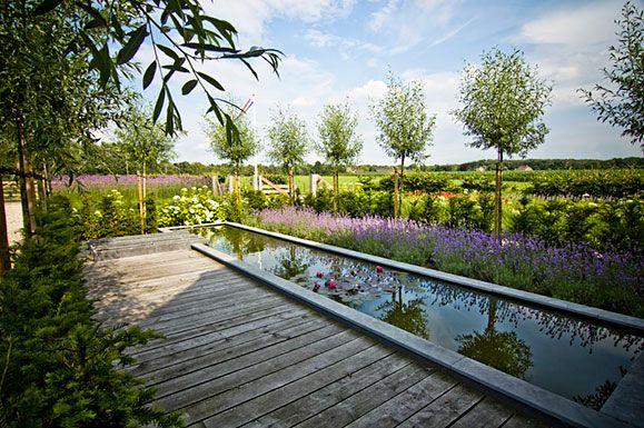 Buytengewoon landelijke tuinen modern landelijke tuin met