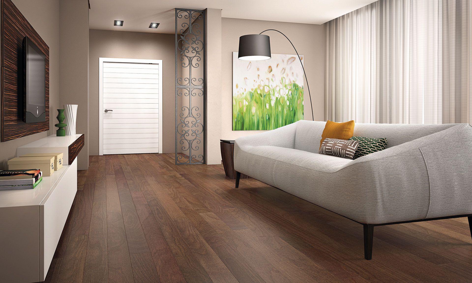 Triangulo Exotic Engineered Hardwood Flooring Copaiba