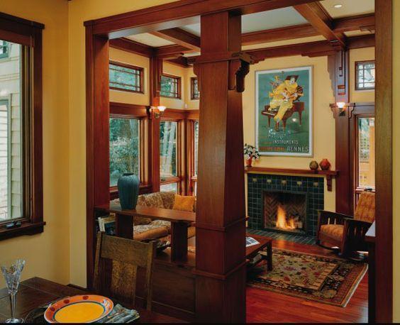 Interior Photo: Gorgeous Craftsman Style Interiors Ideas Inspiration To Your House ~ PRsarahevans