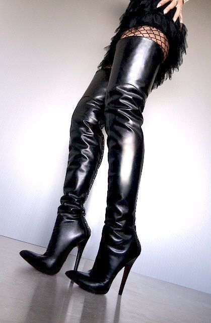 back Danielle black 6 inch zip leather heel crotch Renzi DIYH2beWE9