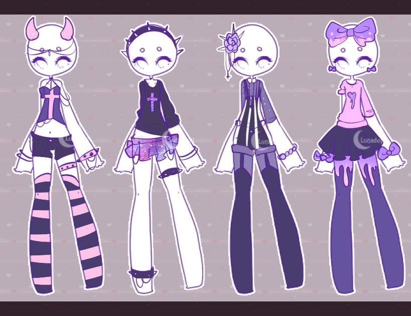 Anime Girl Drawing Outfit Ideas