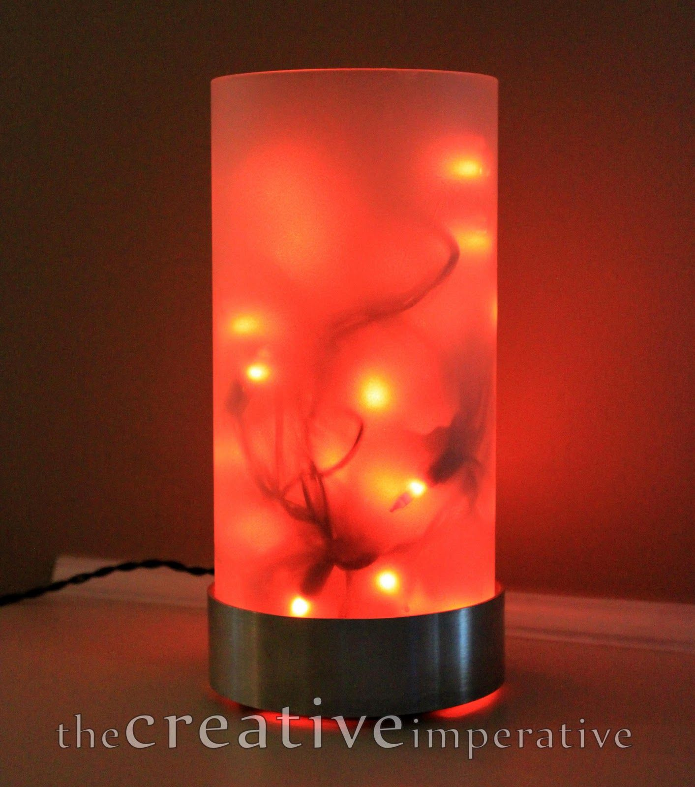 Ikea candle holder u orange lights halloween board pinterest